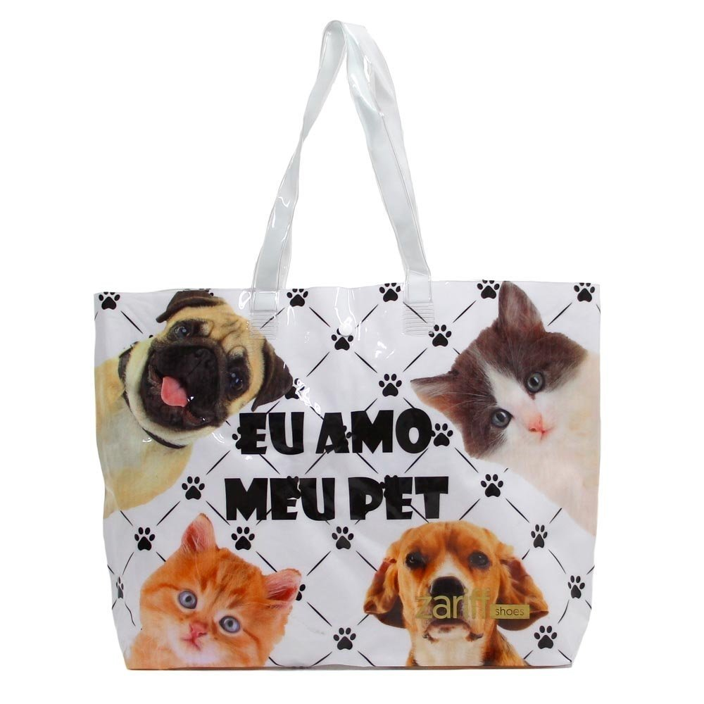 Animais com Shoes Zariff Bolsa Branco Chinelo Kit Chinelo Kit wSPXnqYw4