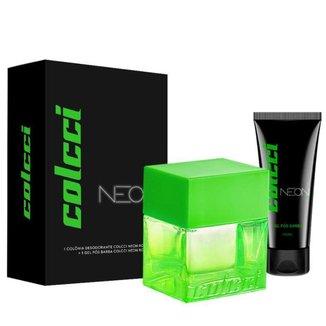 Kit Colcci Neon Boys (Perfume 100ml + Gel Pós Barba 100ml)