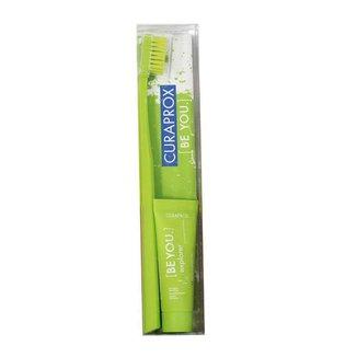 Kit Creme Dental + Escova de Dentes Curaprox Be You Light Pack