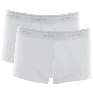 Kit  Cueca Boxer Calvin Klein Cotton  2 Pçs