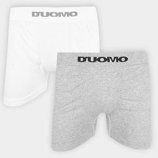 Kit Cueca Duomo Boxer 02 Peças