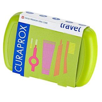 Kit Curaprox Escova de Dentes + MiniCreme Dental + Escova Interdental + Caixa Escova de Viagem