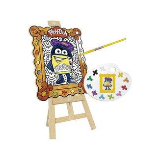 Kit de Pintura Play-Doh Meu Pequeno Artista com Acessórios