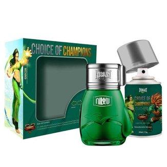 Kit Everlast Street Fighter Brasil (Perfume 100 ml + Deo Spray 250 ml)