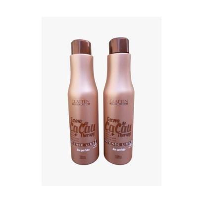 Kit Glatten Progressiva Cacau 1 Shampoo 1L + 1 Redutor 1L-Feminino