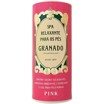 Kit Granado Spa Relaxante para Pés Pink