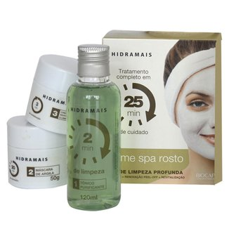 Kit Hidramais Home SPA Facial Tônico + Máscara + Hidratante