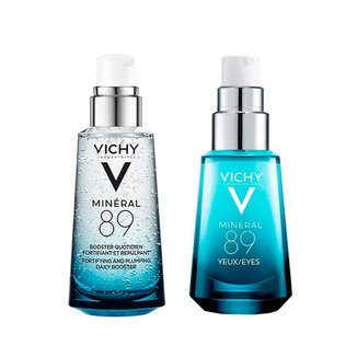 Kit Hidratante Facial Vichy Mineral 89 + Hidratante para Olhos