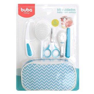 Kit Higiene Bebê Buba Cuidados para Bebê com Estojo