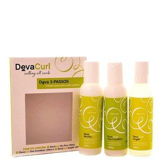 Kit Higienizador Condicionante Deva Curl Deva Curl 3-Passos kit