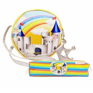 Kit Infantil Magicc Bolsa e Estojo Castelo Encantado Feminino