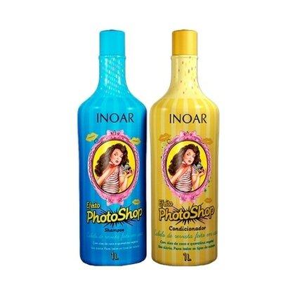 Kit Inoar Photoshop Shampoo 1 Lie Condic.1L Óleo D