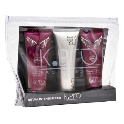 Kit K-Pro Ritual Intense Repair 1 Shampoo 45ml + 1 pH Balancer 45g + 1 Condicionador 45g