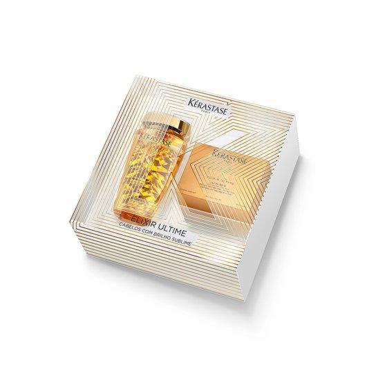 Kit Kérastase de Tratamento Le Bain 250ml+Le Masque 200ml - Incolor
