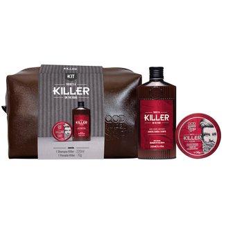 Kit Killer Necessaire Sh + Pomada Qbs