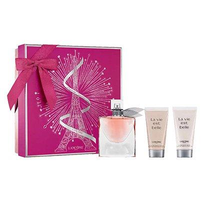 Kit Lancôme Perfume La Vie Est Belle Edp 50Ml + Shower Gel 50Ml + Bodylotion 50Ml-Feminino