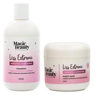 Kit Liss Extremesh Magic Beauty - Shampoo + Máscara Kit
