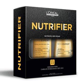 Kit L'Oréal Professionnel Nutrifier Shampoo + Máscara de Tratamento