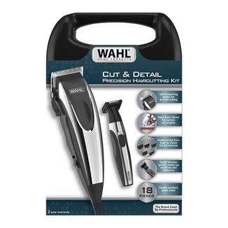 Kit Máquina de Cortar Cabelo e Aparador Wahl Cut & Detail - 110V