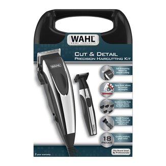 Kit Máquina de Cortar Cabelo e Aparador Wahl Cut & Detail - 220V