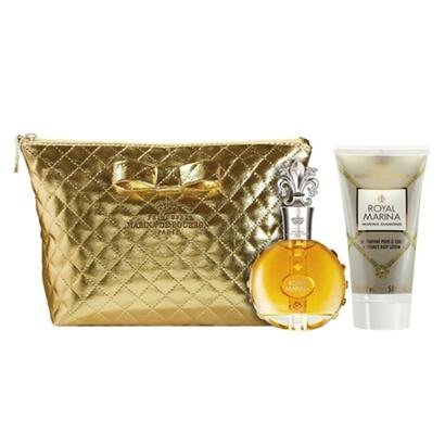 Kit Marina de Bourbon Royal Diamond Kit - Eau de Parfum100ml + Loção Corporal 150ml + Necessaire