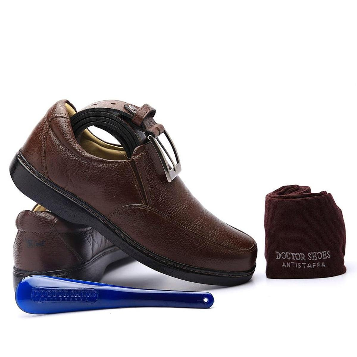 Doctor Kit Kit Calçadeira Cinto Masculino Shoes Masculino Sapato Meia Café Zg70nUg