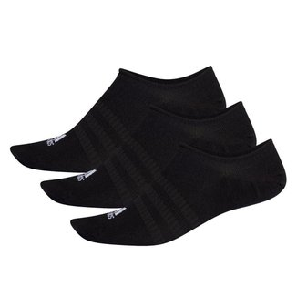 Kit Meia Adidas Soquete Light Nosh c/ 3 pares