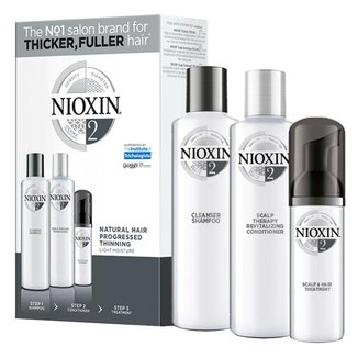 Kit Nioxin Sistemma 2 Cleanser Shampoo 150ml + Condicionador 150ml + Leave-in 50ml