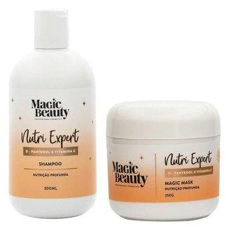 Kit Nutri Expert Magic Beauty - Shampoo + Máscara Kit