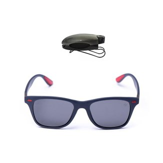 Kit Óculos Masculino Polarizado + Porta Óculos Veicular