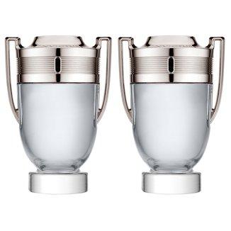 Kit Paco Rabanne Perfume Masculino Invictus EDT 100ml + Perfume Masculino Invictus EDT 100ml