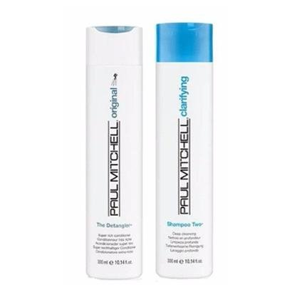 Kit Paul Mitchell Sh. Two300ml E Condicionador Detangler300ml Limpeza