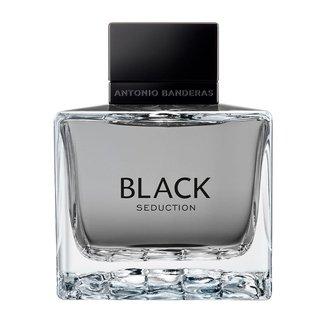 Kit Perfume Antonio Banderas Seduction In Black Eau de Toilette Masculino 100ml + Loção Pós Barba 75