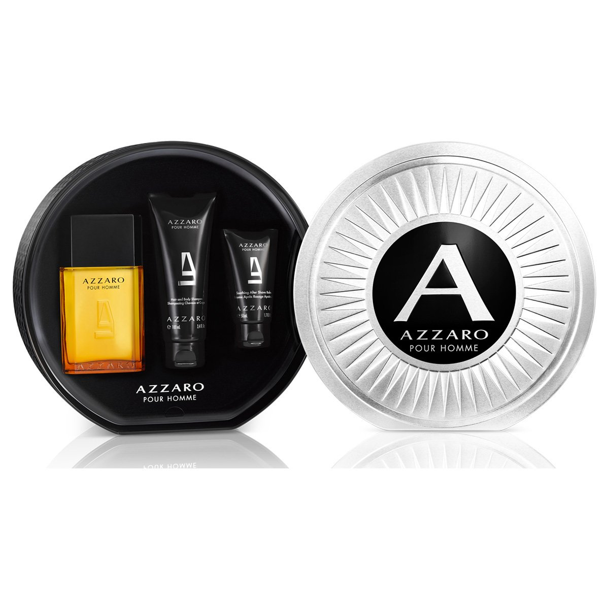 402f79780 Kit Perfume Azzaro Pour Homme Masculino EDT 100ml + Body Shampoo 100ml +  After Shave Balm 50ml - Compre Agora