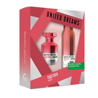 Kit Perfume Benetton Together 80ml + Desodorante 150ml