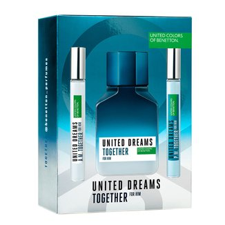 Kit Perfume BenettonTogether 100ml + Intensificadores