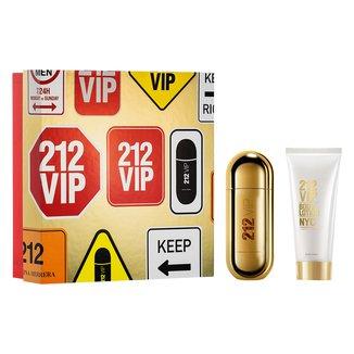 Kit Perfume Carolina Herrera 212 Vip Eau de Parfum Feminino 50ml + Hidratante Corporal 75ml