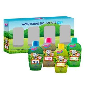 Kit Perfume Delikad Kids Safari Mini 60 ml