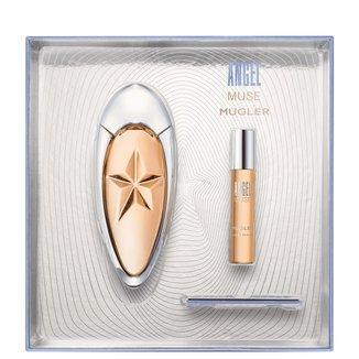 Kit Perfume Feminino Angel Muse Thierry Mugler Eau de Parfum 50ml + Miniatura 9ml