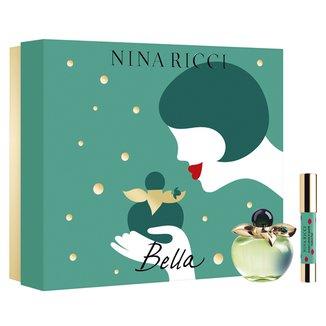 Kit Perfume Feminino Bella Nina Ricci Eau de Toilette 80ml + Lipstick