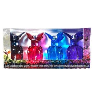 Kit Perfume Feminino Delikad Mini Butterfly Collection 25 ml