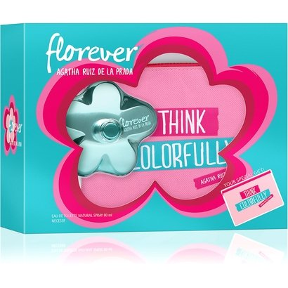 Kit Perfume Feminino Florever Agatha Ruiz De La Prada Eau De Toilette 80Ml + Nécessaire-Feminino