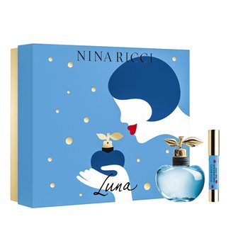 Kit Perfume Feminino Luna Nina Ricci Eau de Toilette 80ml + Lipstick