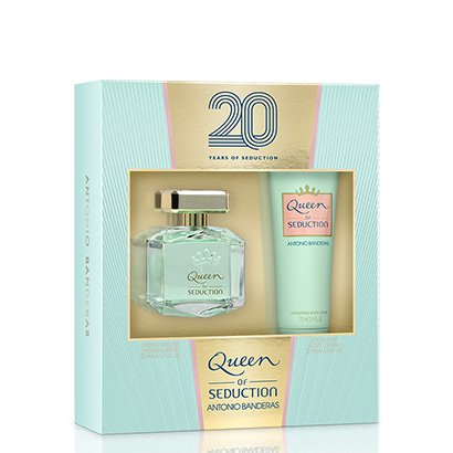 Kit Perfume Feminino Queen Of Seduction Antonio Banderas Eau De Toilette 80Ml + Body Lotion 75Ml-Feminino