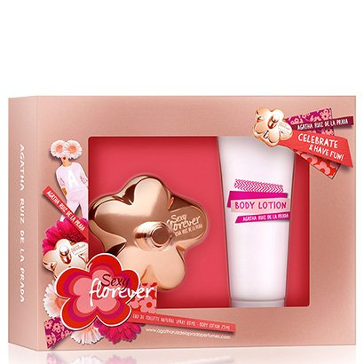 Kit Perfume Feminino Sexy Florever Agatha Ruiz De La Prada Eau De Toilette 80Ml + Body Lotion 75Ml-Feminino