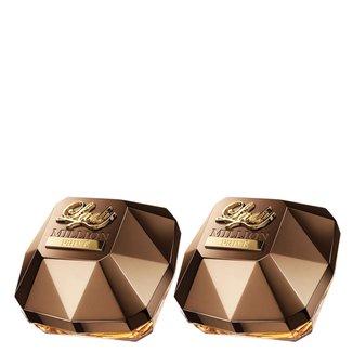 Kit Perfume Lady Million Feminino Paco Rabanne Eau de Parfum 30ml com 2 unidades