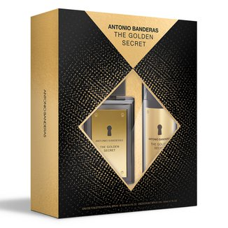 Kit Perfume Masculino Antonio Banderas The Golden Secret  EDT100ml + Desodorante 150ml
