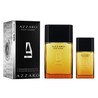 Kit Perfume Masculino Azzaro Pour Homme EDT 100ml + Perfume Masculino Azzaro 30ml