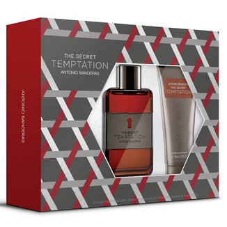 Kit Perfume Masculino The Secret Temptation Antonio Banderas Eau de Toilette 100ml + Pós Barba 75ml