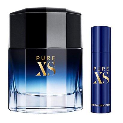 Kit Perfume Paco Rabanne Pure XS Masculino EDT 50ml + Travel Spray 10ml - Masculino-Incolor
